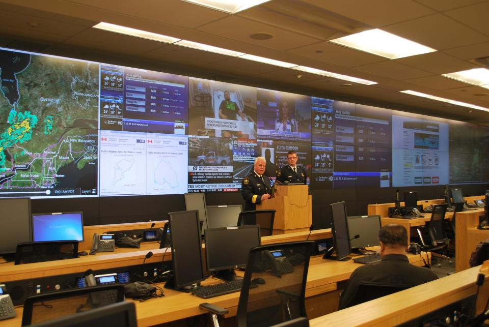New Provincial Emergency Operations Centre, Toronto Canada, image by Marcus Mitani