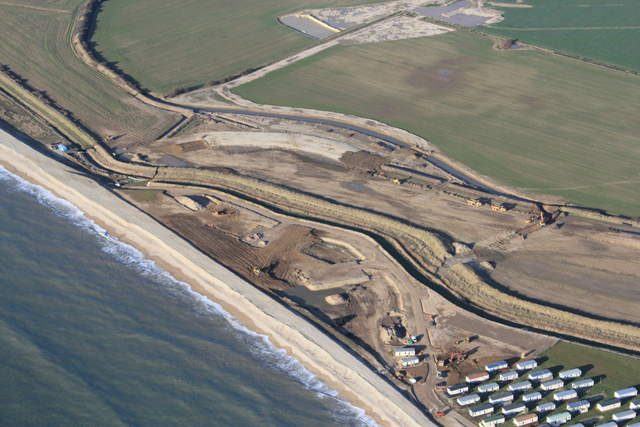 Medmerry Realignment. Improved Flood Protection and Compensatory Wetland Habitat(Southern England)